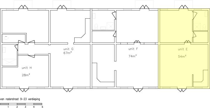 Floorplan Van Raderstraat 23